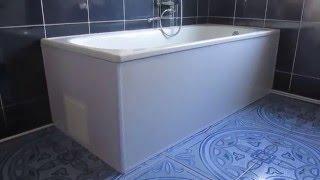 экран под ванну  своими руками легко и быстро, ванная комната(экран под ванну своими руками зачем покупать то, что можно сделать самому Помощь автору: собираю средства..., 2016-02-08T15:56:11.000Z)
