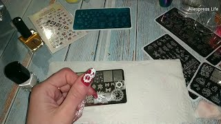 AliExpress Все для ногтей с Алиэкспресс Ногтевые товары с алиэкспресс Новогодний маникюр