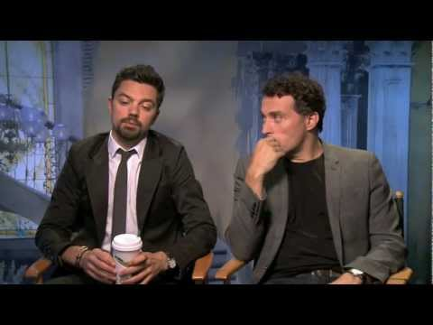 Dominic Cooper and Rufus Sewell Interview - Abraham Lincoln: Vampire Hunter