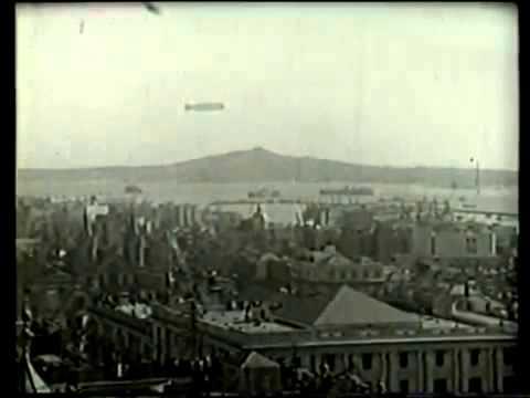 Graf Zeppelin en Montevideo 1934