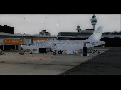 [Prepar3D] TCV6025 Amsterdam(EHAM) Praia(GVNP) FSLabs Airbus A320