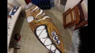 CARLOS ESCOBAR, SURF ART # 11