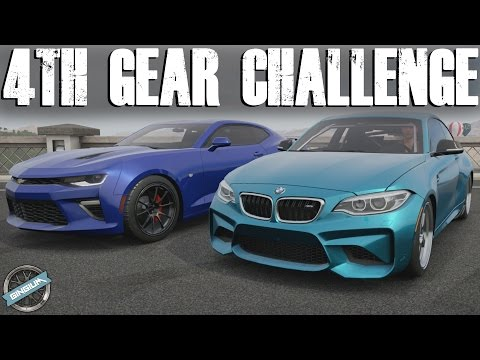 4TH GEAR CHALLENGE! - Camaro SS VS BMW M2 || Forza Horizon 3 W/ CMTW99