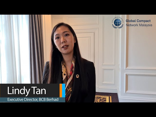 GCMY CEO Wisdom Series Featuring Lindy Tan, Executive Director of BCB Berhad