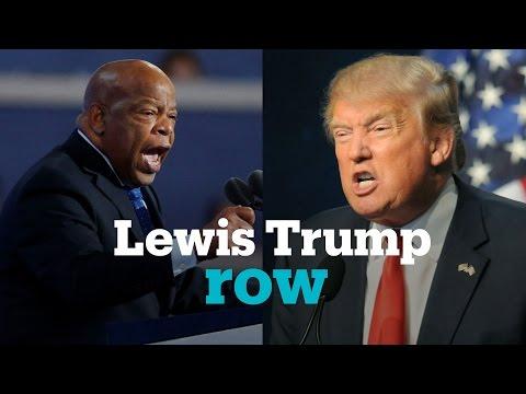 Trump slammed for attacking civil rights legend John Lewis