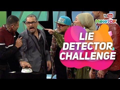 Soalan panas ... kalau tipu kena kejutan elektrik | Lie Detector Challenge | 4 Dato' I MeleTOP
