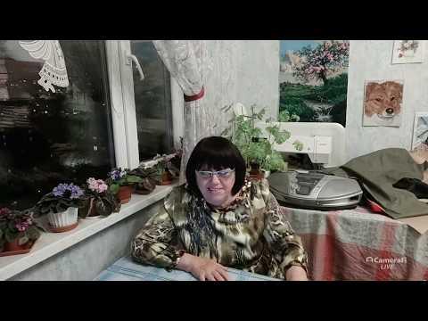 Прямой эфир,Ольга Буланова шитьё,вышивка,цветы's Broadcast