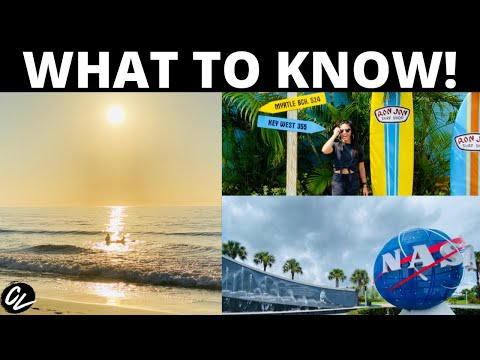 Cocoa Beach Florida Vlog | What To Do, Where To Eat, Where To Stay!