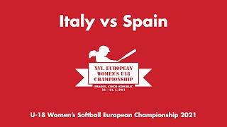 U-18  WECh: Italy vs Spain