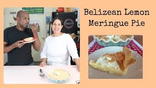 How to Make Belizean Lemon Meringue Pie/ Shortcrust Pastry Dough