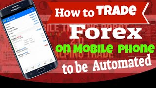 How to trade Forex scalping on Mobile phone