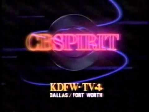 CBS Spirit - KDFW-TV Station ID, 1987-88