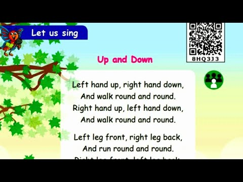 UP and DOWN poem~2nd std Term 1~With Animations 🥳💥💫💫🙃