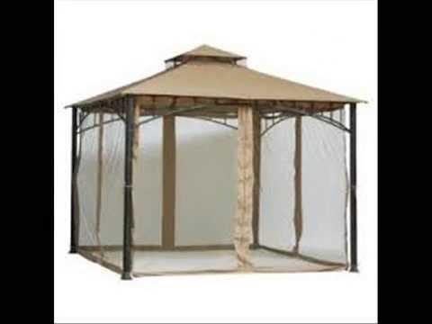 outdoor patio gazebo mosquito netting