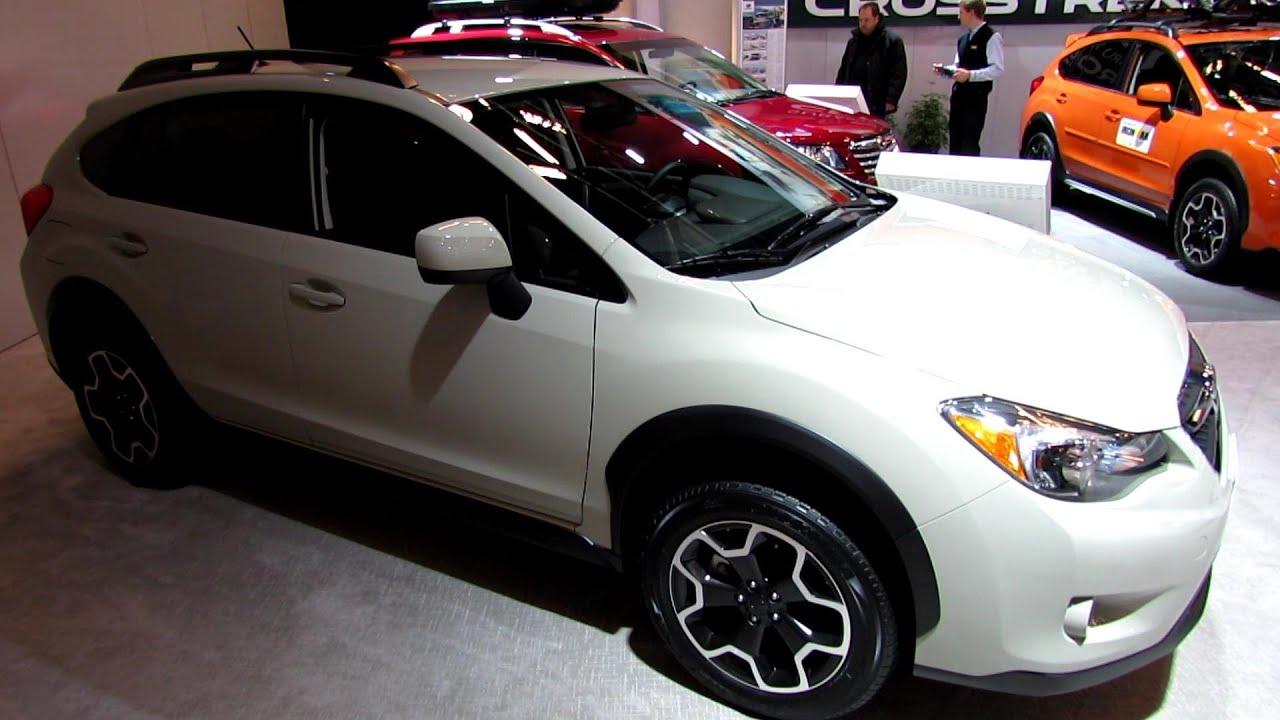 2013 Subaru Xv Crosstrek Exterior And Interior Walkaround 2013 Montreal Auto Show Youtube