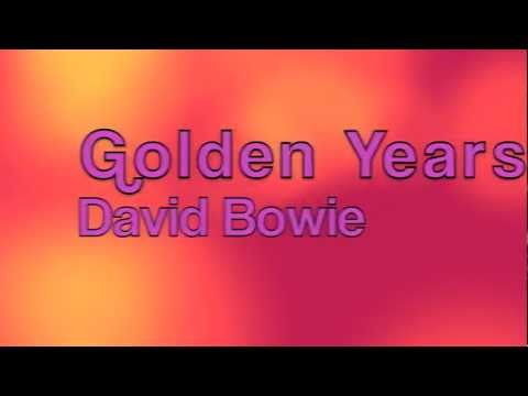 David Bowie-Golden Years Lyrics