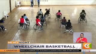 Wheelchair basketball team starts training at Kasarani