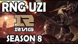 RNG Uzi Twitch vs Ezreal ADC Ranked Challenger Korea