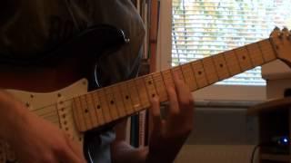 Dream of a New Day guitar solo - (Richie Kotzen Cover)