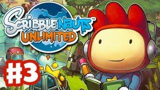 Scribblenauts Unlimited - Gameplay Walkthrough Part 3 - Virgue Gallery (PC, Wii U, 3DS)