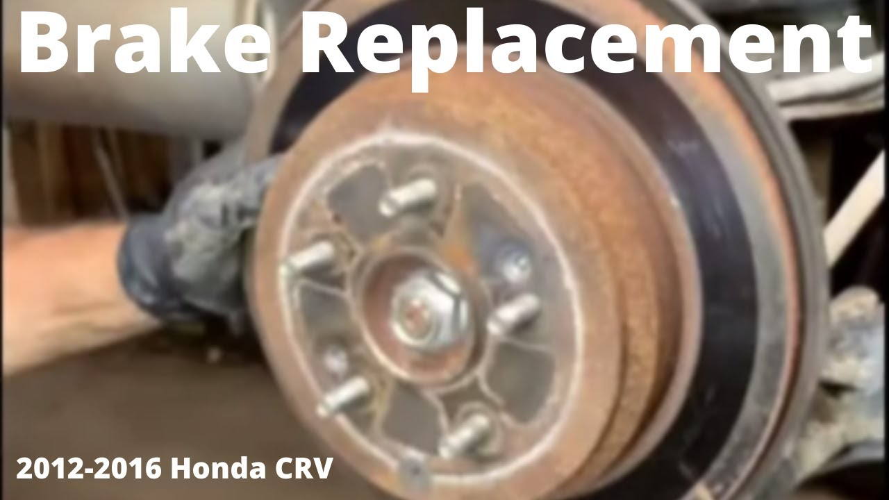 how to change your rear brake pads