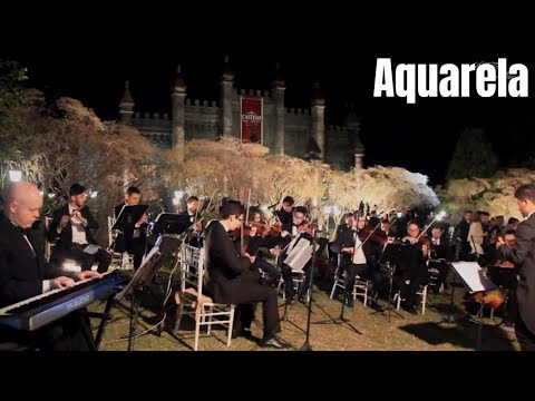 Aquarela Toquinho Casamento no Castelo dos Vinhais