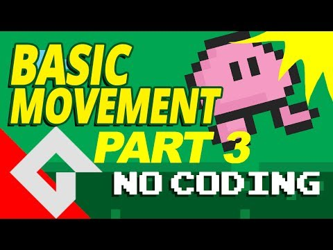 Game maker Studio 2 - Basic movement - Part 3 - no coding. (Collision)  Dnd Drag and drop