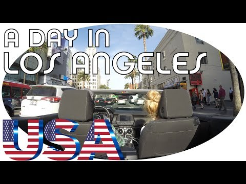 USA [Los Angeles] - VLOG What can you do max in 1 day? (subtitles available)