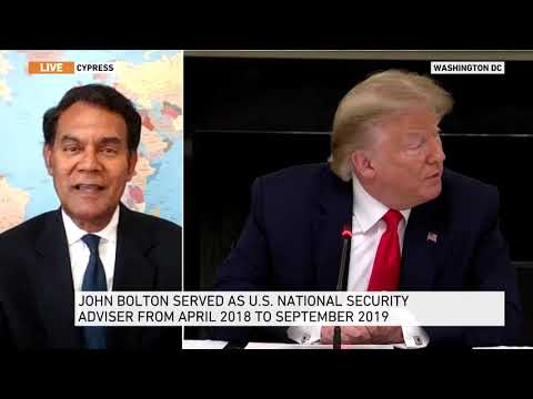On Al Jazeera English TV Peter Mathews Analyzes Bolton's Trump Allegations; SCOTUS Dreamers Decision