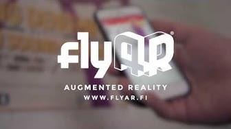 flyAR - Augmented Reality / Lisätty todellisuus