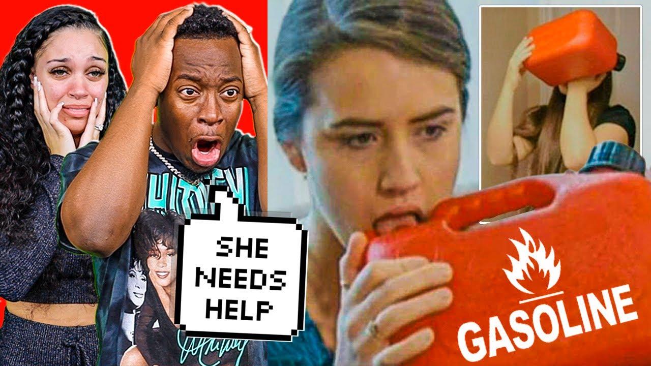 FEMALE DRINKS GASOLINE EVERYDAY STRANGE ADDICTION | THE PRINCE FAMILY