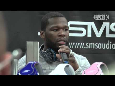 50 Cent in Amsterdam voor SMS Audio