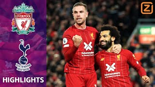 SALAH PROFITEERT VAN FOUT   Liverpool vs Tottenham   Premier League 2019/20   Samenvatting