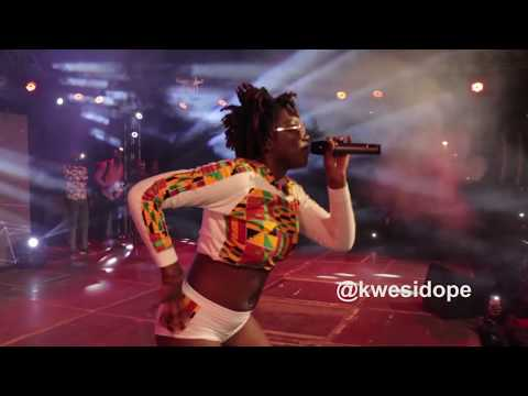 EBONY REIGNS SERVES POISON AT PENT HALL WEEK 2017