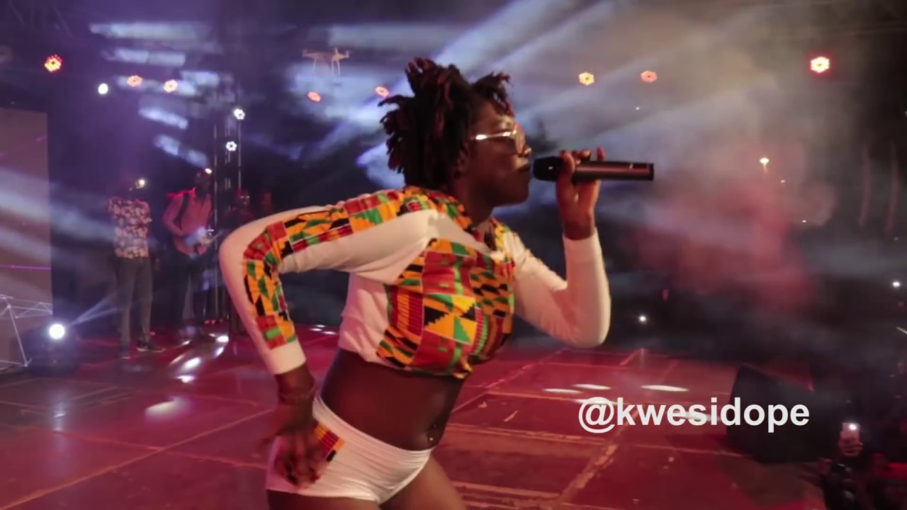 EBONY REIGNS SERVES POISON AT PENT HALL WEEK 2017  YouTube