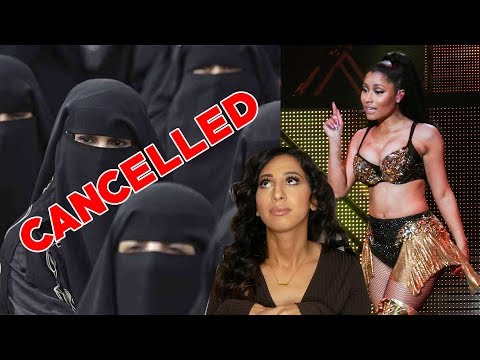 Nicki Minaj CANCELLED Saudi Arabia