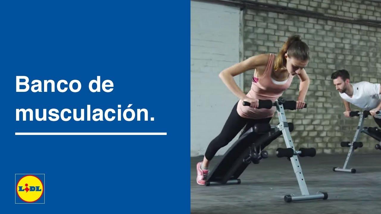 Banco De Musculación Lidl España Youtube