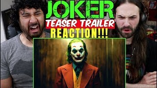 JOKER - Teaser TRAILER - REACTION!!!