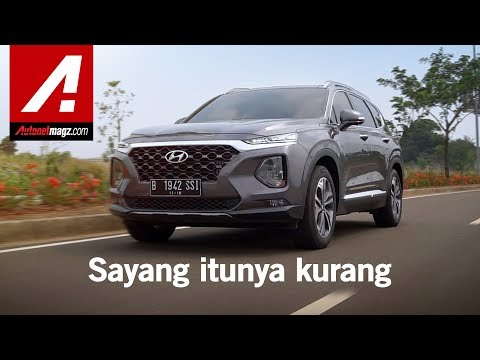 Hyundai Santa Fe 2018 Review & Test Drive By AutonetMagz
