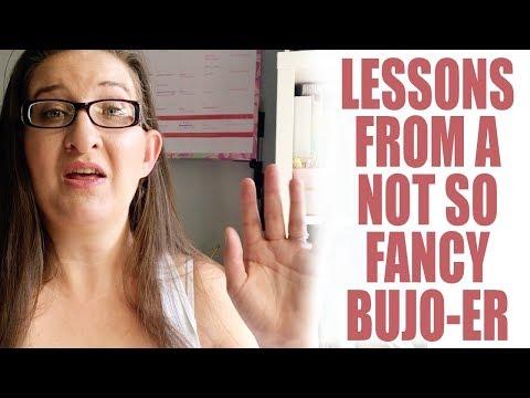 Bullet Journal Beginner | 5 Things I Learned In My First BuJo