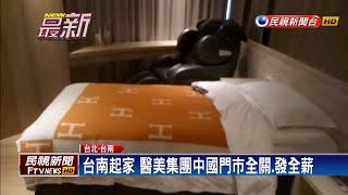 中國員工防疫假給全薪 醫美集團虧損逾兩億-民視新聞