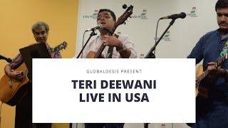 Teri Deewani - Kailash Kher | Live by GlobalDesis