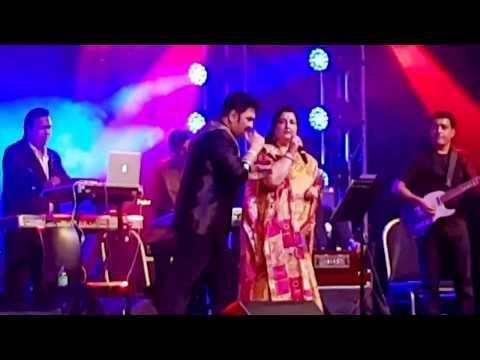 Kumar Sanu & Anuradha Paudwal   Live In Sydney 2018   Main Duniya Bhula Doonga