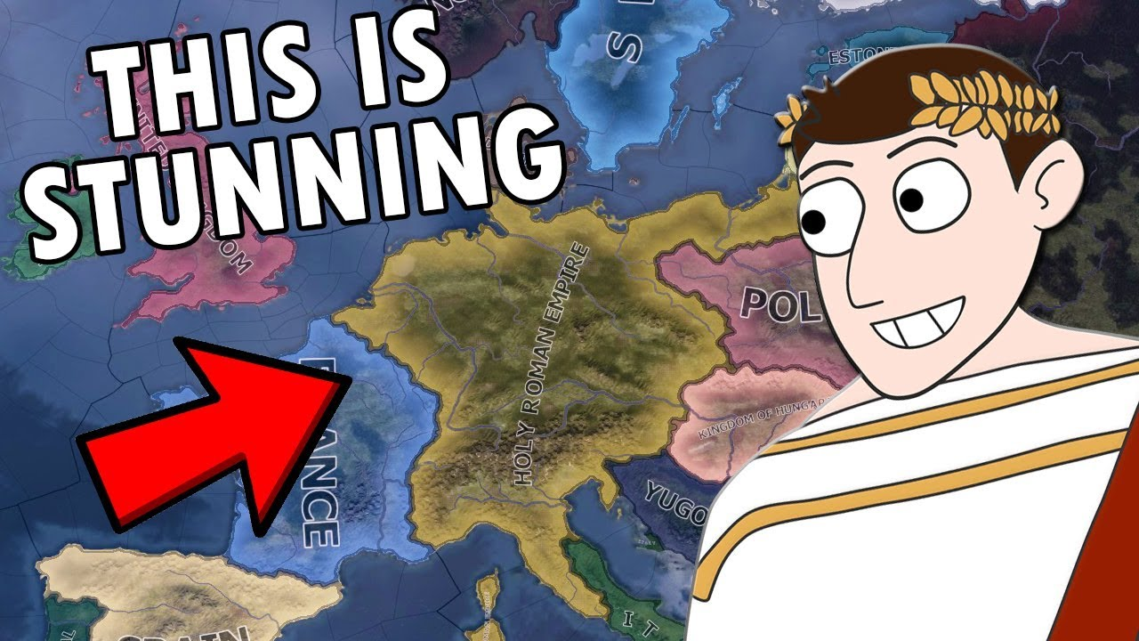 What If The Holy Roman Empire Existed In WW2?! HOI4