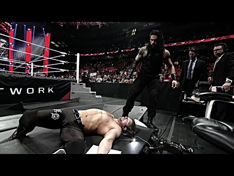 Relive the rivalry between Roman Reigns and AJ Styles