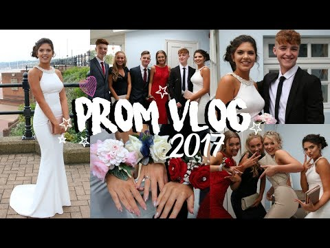 PROM VLOG 2017 | Hair, Makeup, Dress & More | Sophie Clough