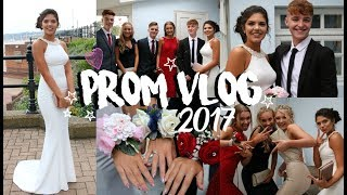 One of Sophie Clough's most viewed videos: PROM VLOG 2017 | Hair, Makeup, Dress & More | Sophie Clough