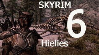 Skyrim 6 Ветреный пик Поговорить с Фаренгаром Скайрим