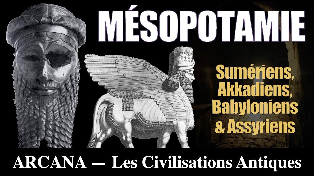 Histoires et Mythes de Mésopotamie ( Sumériens, Akkadiens, Babyloniens et Assyriens )