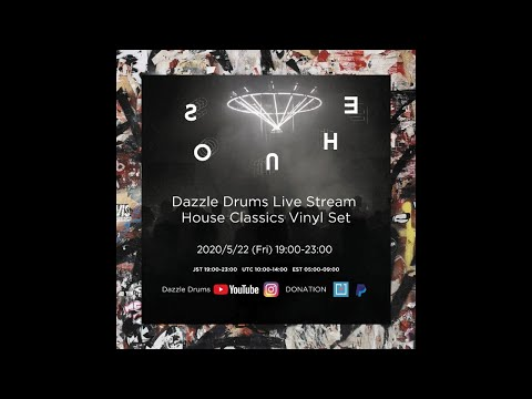 Dazzle Drums Live Stream House Classics Vinyl Set